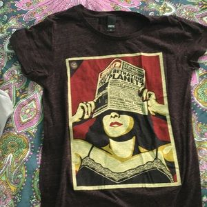 Obey Graphic tee